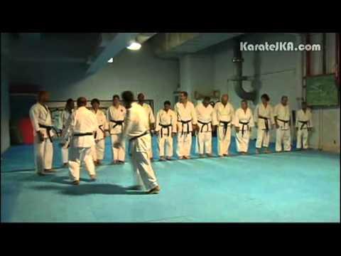 Entrainement du Karate avec Sensei Etienne Herady