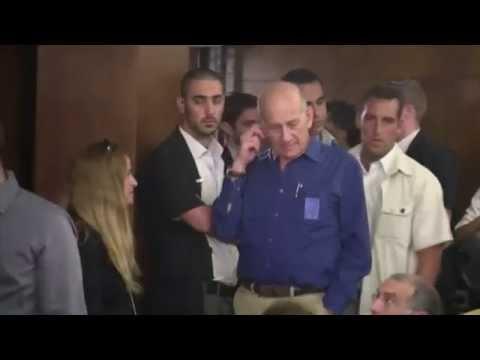 Israël: un ex-Premier ministre condamné à 6 ans de prison