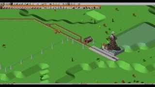 Simutrans. Урок 4. Строим железнодорожную линию для пропуска нескольких поездов