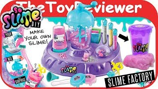 So Slime DIY Slime Factory Glitter Confetti Surprise No Glue Unboxing Toy Review by TheToyReviewer