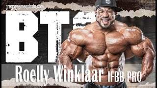 Gregory James BTS Bodybuilding Photoshoot | IFBB Pro Roelly Winklaar