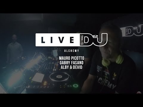DJ Mag Live Presents Alchemy w/ Mauro Picotto & More (DJ Set