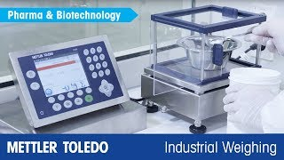 Weighing in Pharmaceutical Manufacturing – The ICS Scale Family