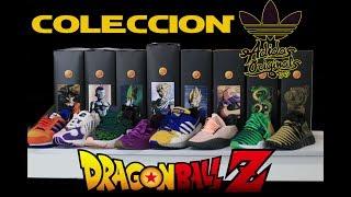 forma derrocamiento Peatonal  La COLECCIÓN COMPLETA Dragón Ball Z by Adidas Sneakers - YouTube
