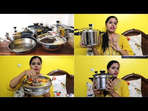 My Stainless Steel Cookware Collection || All About My Steel Cookware || Review......