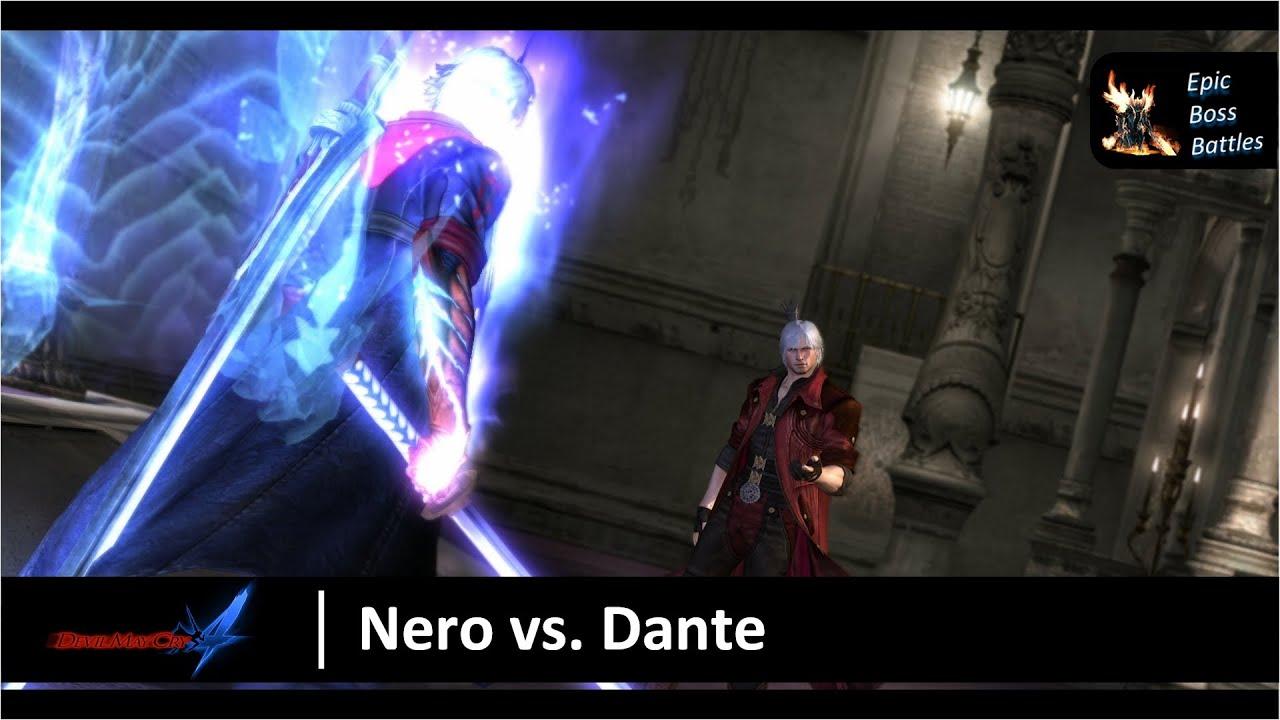 Devil may cry 4 nero vs dante boss battle hd youtube devil may cry 4 nero vs dante boss battle hd voltagebd Images