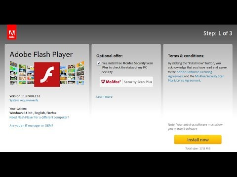 How to download adobe flash player learn how to install Install adobe flash