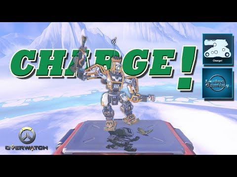 Overwatch Achievements - Bastion - Charge!