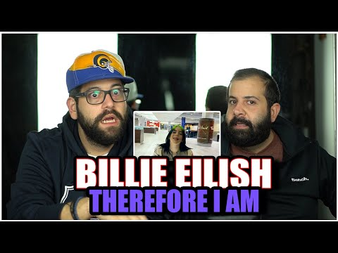 WE WANT A DONUT!! Billie Eilish - Therefore I Am (Official Music Video) *REACTION!!