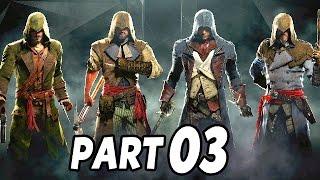 Let's Play Assassin's Creed Unity Coop Gameplay German Deutsch #3 - Georges Danton retten