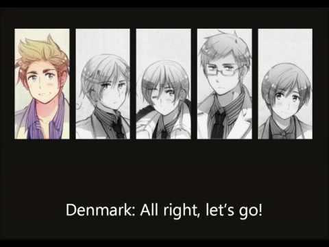 Nordic Five - Always Together [english subtitles].wmv