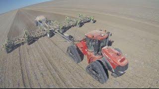 Morvenvale Planting Wheat 2014