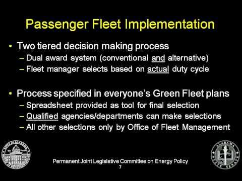 111212 Alabama Green Fleet Life Cycle Cost Procurement Subcommittee.wmv