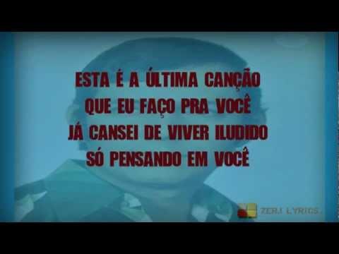 Paulo Sergio - A Última Canção (Letra)