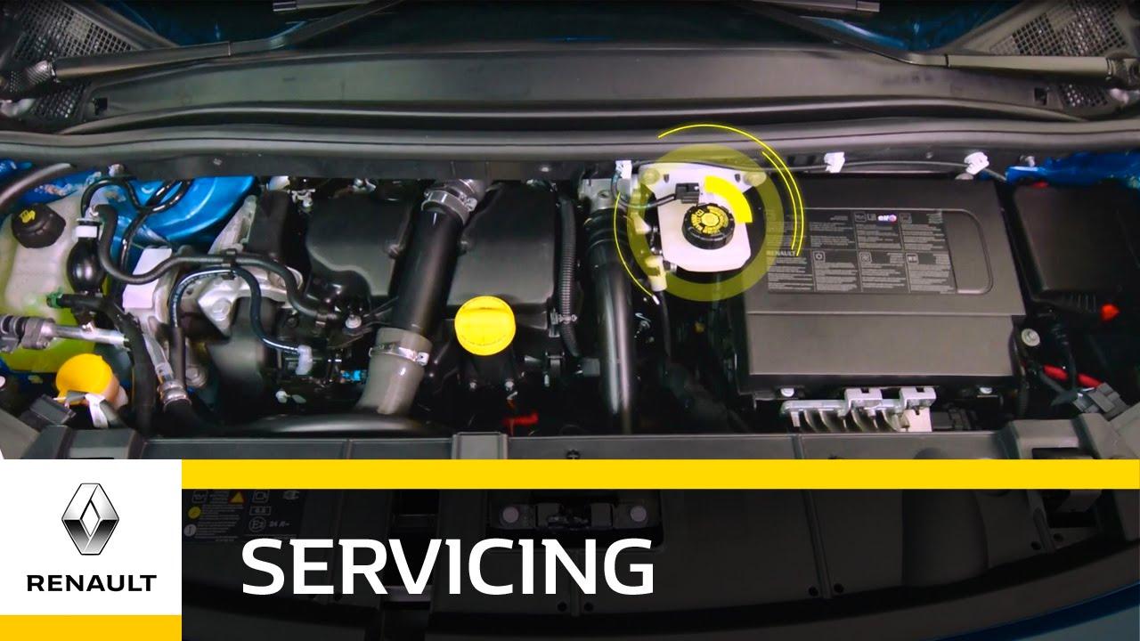 how to top up brake fluids renault uk [ 1280 x 720 Pixel ]