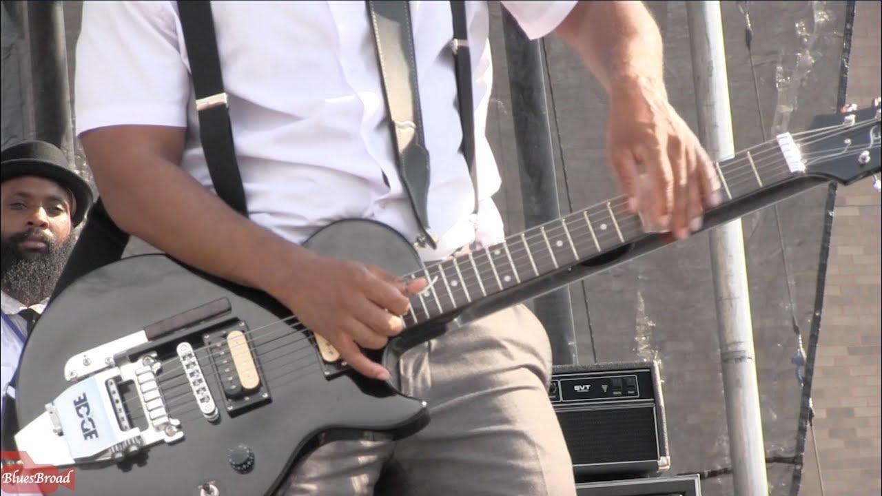 AJ GHENT ♫ Purple Rain • NY State Blues Fest • 6/30/18