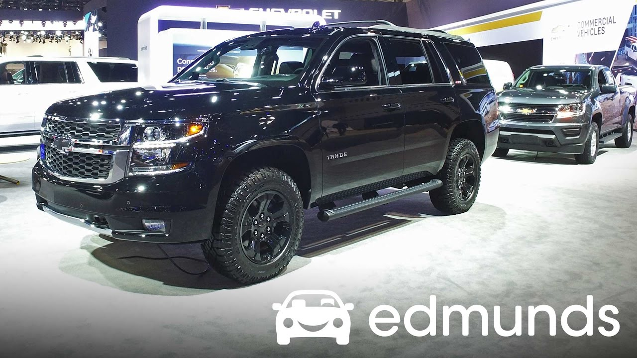 2017 chevrolet tahoe review   features rundown   edmunds - youtube