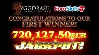 Joker Millions €720,000 first jackpot winner - Yggdrasil Gaming