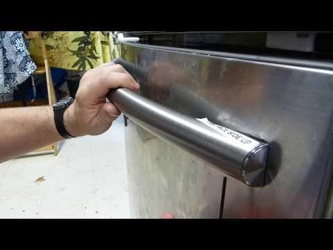 Fridge Door Handle Fix: Clueless Homeowner Vs. Retarded Sales Guy