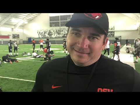 Oregon State Beavers - Jonathan Smith talks Spring FB for the Beavers and reacts to AAF demise!