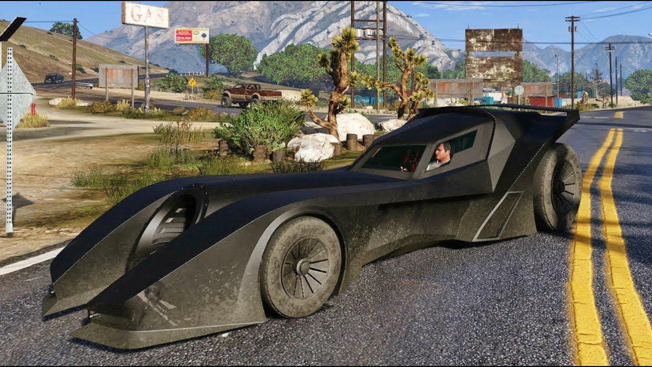 Gta  Best Batmobile Car