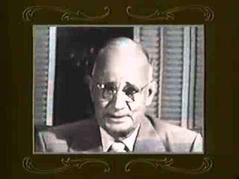Great Law of Attraction Video - Thoughts - Napoleon Hill Interview