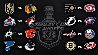 2020 Stanley Cup Playoffs | Round 1 | Every Goal