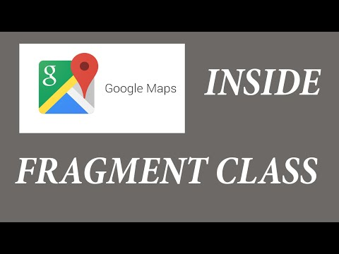[Tutorial] Android Navigation Drawer - Adding Google Maps inside a Fragment class