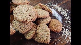 Овсяное печенье. Простой , быстрый и вкусный рецепт овсяного печенья.