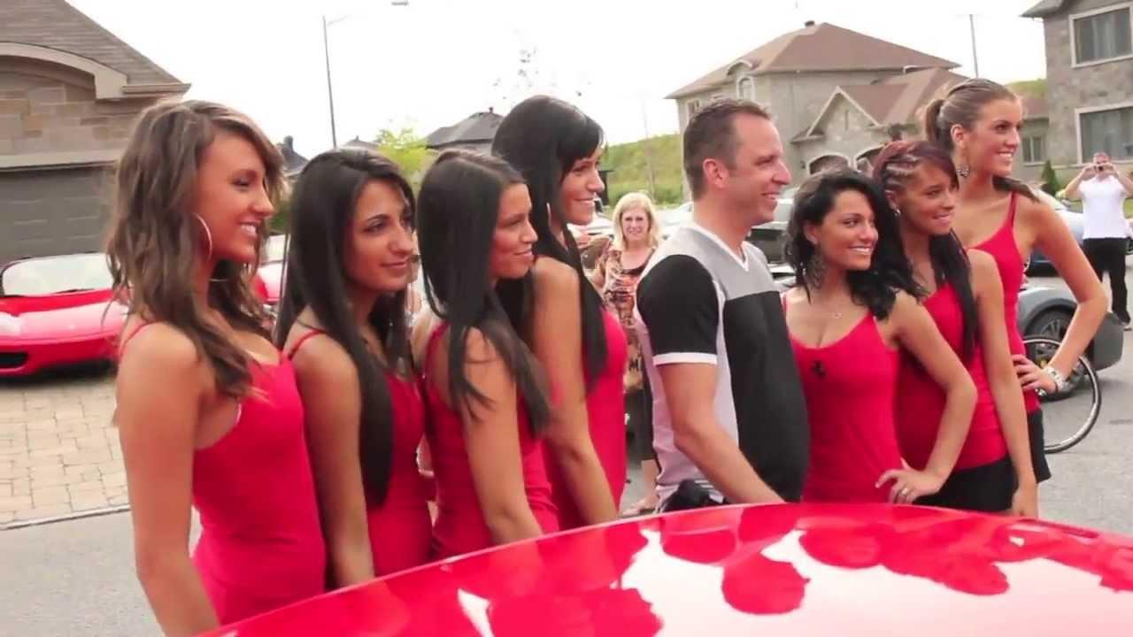 Club Luigi Ferrari Quebec Fundraising Car Show In Quebec City Youtube
