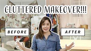 Cluttered Office Gets Major Makeover   Vintage Dream Office