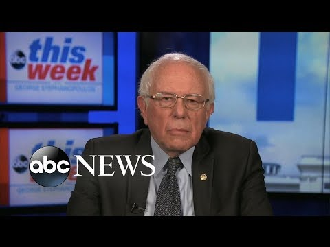 Sen. Sanders: Democrats have to end one party rule by winning in midterms