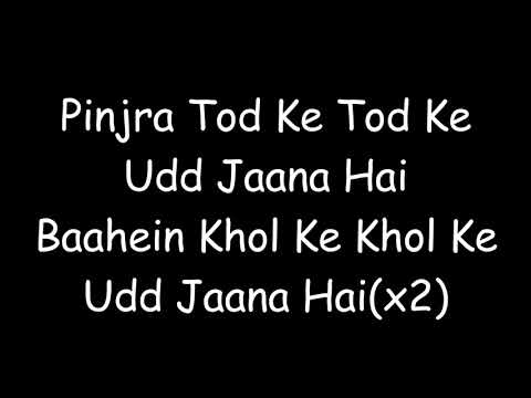 pinjra tod ke lyrics of movie simran