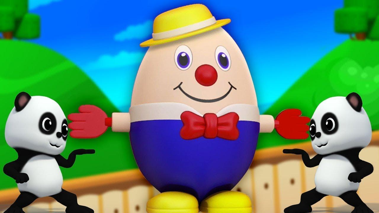 Humpty Dumpty Assis Sur Un Mur Comptines Pour Enfants Français