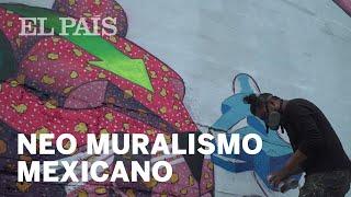 'Spaik', el arte urbano heredero del muralismo mexicano   Cultura