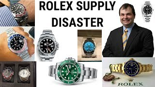 ROLEX SUPPLY PROBLEMS - Asia Pacific Region - NO STEEL SPORTS