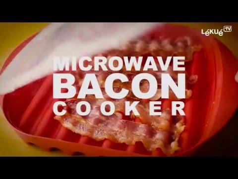 microwave bacon cooker lekue tv