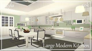 Roblox | Bloxburg: Large Modern Kitchen (50k)