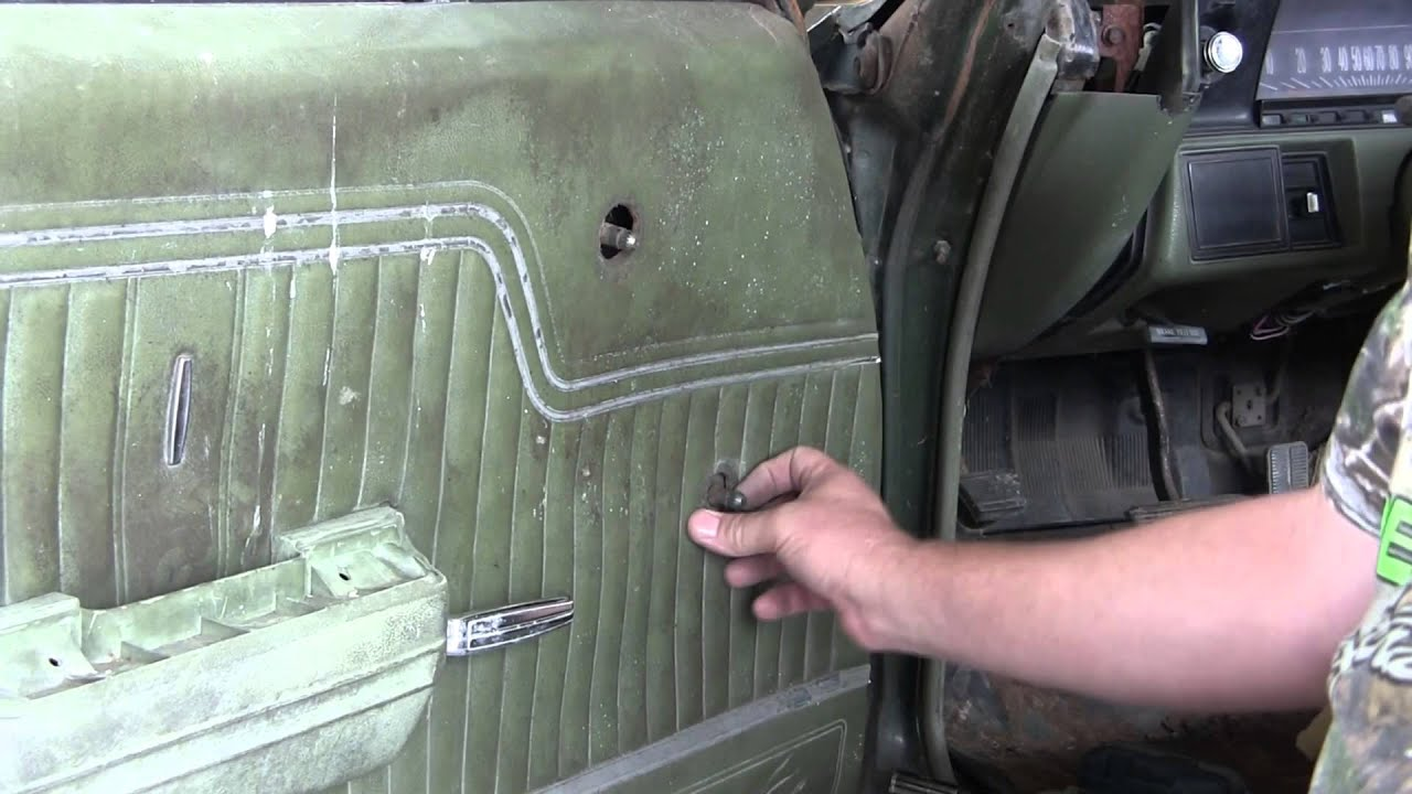 How to Replace a 68-72 El Camino Window Glass Part 1 - YouTube