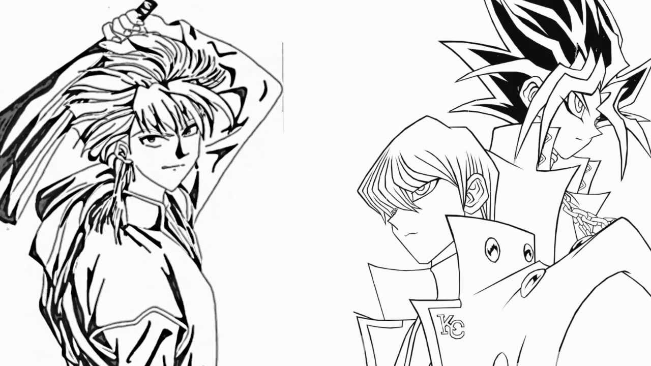 How to draw yu gi oh yami yugi and seto kaiba vs tasuki how to draw yu gi oh yami yugi and seto kaiba vs tasuki fushigi yugi manga series video youtube ccuart Gallery