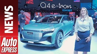 Audi Q4 e-tron concept –the next step in Audi's electrification plan