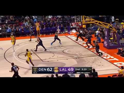 Los Angeles Lakers vs Denver Nuggets NBA Preseason 2018-19 Highlights Sep 30 2018