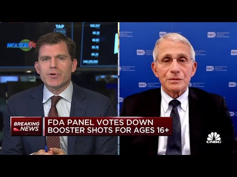 Dr. Anthony Fauci on boosters, breakthrough cases and CDC data