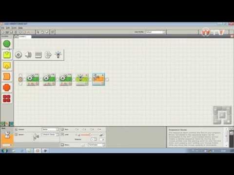 Podstawowy robot z LEGO Mindstorms - część 2 - programowanie