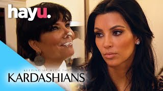 Kim Leaves Her Own Party | Keeping Up With The Kardashians
