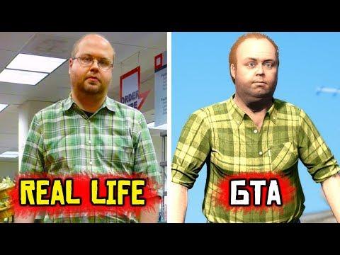 GTA Characters In REAL LIFE - Big Smoke, Niko Bellic & MORE!