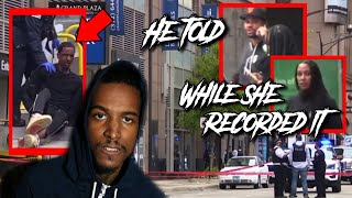 LIL REESE SHOT IN GUNFIGHT THEN BEATEN OVER STOLEN SRT IN CHICAGO