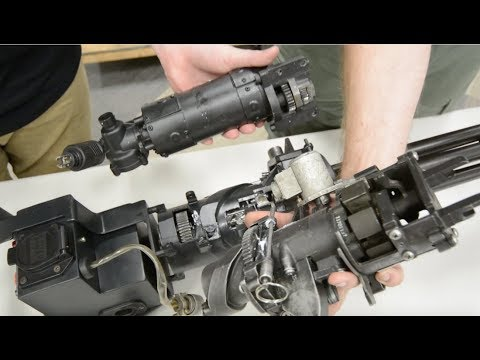How a M134 Minigun works, Full Breakdown!
