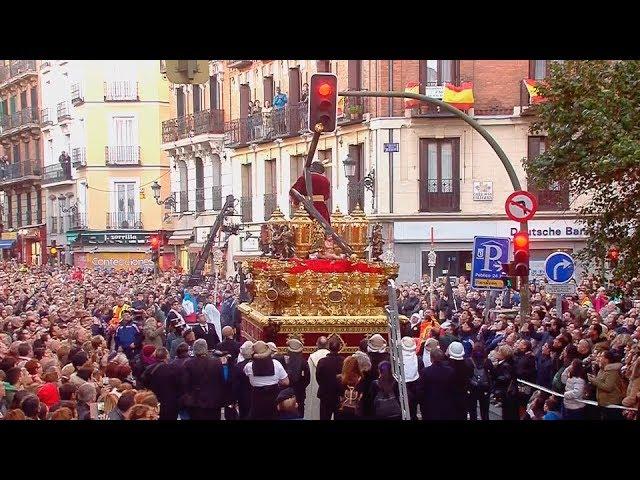 Se rompe la cruz de la imagen de Jesús del Gran Poder en Madrid
