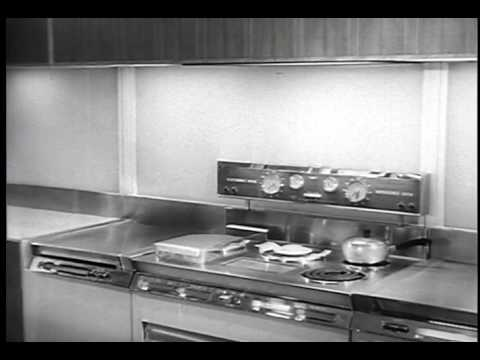 Kitchen Of The Future 1950s Youtube